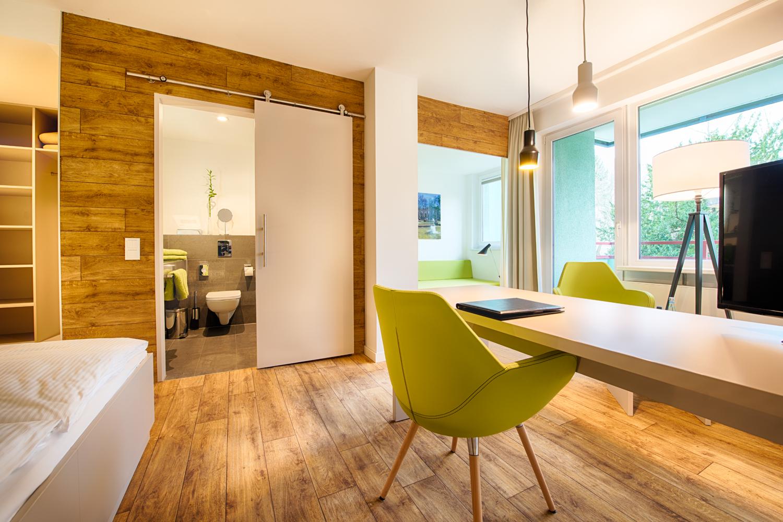 Doppelzimmer Komfort Gartenblick