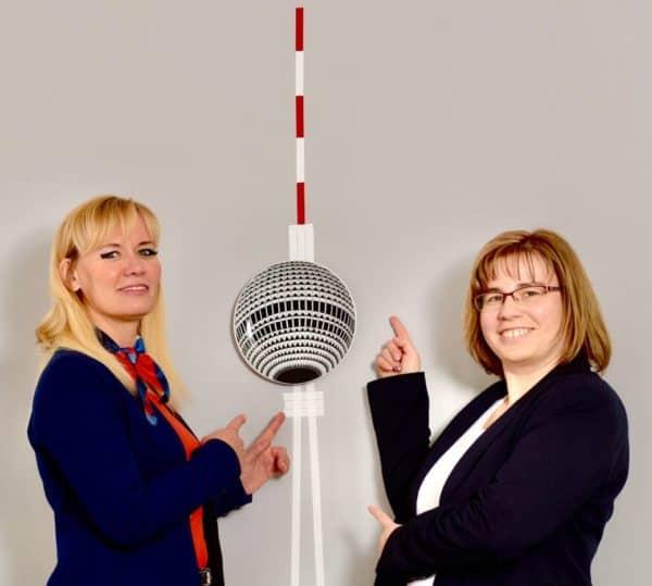 Gastgeberinnen Claudia Wießner und Ina Drewitz